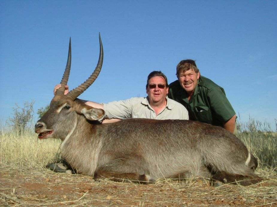 Water buck Trophy Namibia