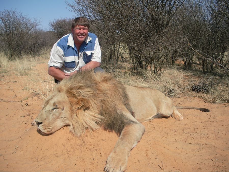 Sable hunting Namibia